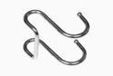 Крючок для рейлинга двойной хром арт.53154