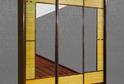 Шкаф-купе трехдверный с бамбуком Лайм