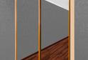 Шкаф-купе двухдверный зеркальный