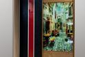 Левая дверь стекло LACOBEL + МДФ, облиц-ное пленкой ПВХ