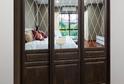 Шкаф с классическими дверьми-купе из коллекции FLORENCIA