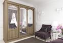 Шкаф с классическими дверьми-купе из коллекции VERSAILLES