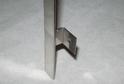 Планка МЩ-прямой стык нерж.сталь (600х9х9) арт.7542
