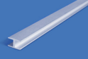 Планка для ст.панели щелевая L-600 мат.хром арт.7534