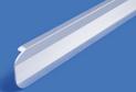 Планка для столешницы h-28 торц.рифл. арт.254