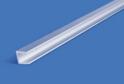 Планка для ст.панели торцевая L-600 мат.хром арт.7532