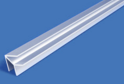 Планка для ст.панели угл.универс.L-600 мат.хром арт.7535