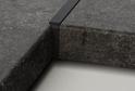 Планка угловая черная-40-R6/180 Левая арт.7552