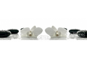 Стеновая панель Albico Msk Белые орхидеи с каплями воды