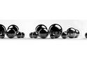 Стеновая панель Albico Msk Черные шары
