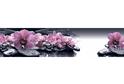 Стеновая панель Albico Msk Орхидеи на камнях