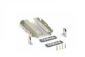 Компл.крепл-й 199мм для ящика Firmax Newline серый FRM0902.43