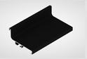 Профиль-ручка L-2025/4050 мм для верх.ящ. н/б, черный 52161/02161