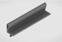 Профиль-ручка L-2025/4050 мм для нав.ящ. в/б, алюминий 02118/02117