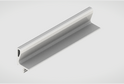 Профиль-ручка L-2025/4050 мм для нав.ящ. в/б, белый 02166/02165
