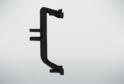Угол наружний для профиля сред.ящ н/б, черный 02235