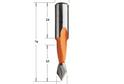 Сверло сквозное 5*70 (левое) арт.50КO50L