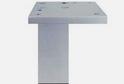 Опора мебельная квадратная 37*37 Н=100 арт.5957