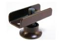 Опора регулируемая П-образная коричневая 16мм арт.2215