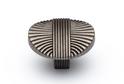 Ручка-кнопка FK492 античный никель мат. арт.57340