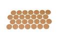 Подпятник войлочный D-25 (32 шт.), арт.9377