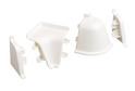 Комплект для плинтуса Rehau 118, белый