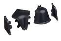 Комплект для плинтуса Rehau 118, черный