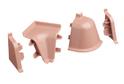 Комплект для плинтуса Rehau 118, роза винтаж (12297251035)