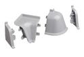 Комплект для плинтуса Rehau 118, серый