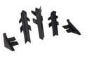 Комплект для плинтуса Rehau Perfetto-line, черный 98104