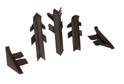 Комплект для плинтуса Rehau Perfetto-line, коричневый 96102