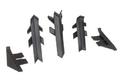 Комплект для плинтуса Rehau Perfetto-line, серый 98151