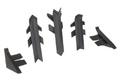 Комплект для плинтуса Rehau Perfetto-line, темно-серый 98149