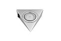 Светильник треугольный с выкл., хром арт.3362