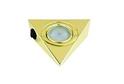 Светильник треугольный с выкл., золото арт.3360