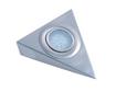 Светильник треугольный без выкл., хром арт.3332