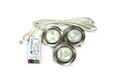 Комплект из 3-х светильников мат.никель арт.3715