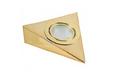 Светильник треугольный без выкл., золото арт.3330