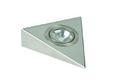 Светильник треугольный без выкл., мат.никель арт.3331