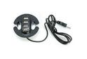 Разветвитель для USB на 4 порта черный, арт.7510
