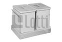 Двойной контейнер д/отходов выкатной 32л арт.LS2-V/32D